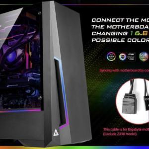 Antec DP501 ATX ARGB Front LED
