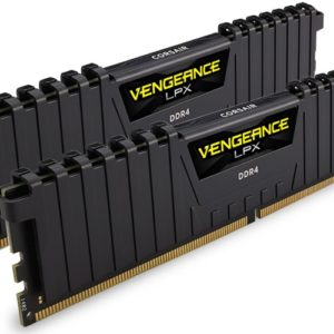 Corsair Vengeance LPX 16GB (2x8GB) DDR4 2133MHz C13 Desktop Gaming Memory Black - CMK16GX4M2A2133C13